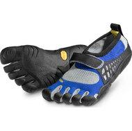 KSO Kids Vibram FiveFingers Детская обувь с пальцами (синий/ серый)