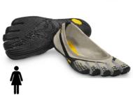 Entrada Women's Vibram FiveFingers Обувь с пальцами (серый/черный)