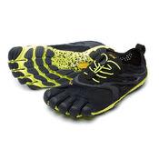 V-RUN M Vibram Fivefingers Обувь с пальцами (Черный/желтый)
