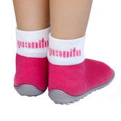 Носочки на резиновой подошве Leguanito pink (розовый)