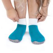 Носочки на резиновой подошве Leguanito tuerkis (бирюзовый)